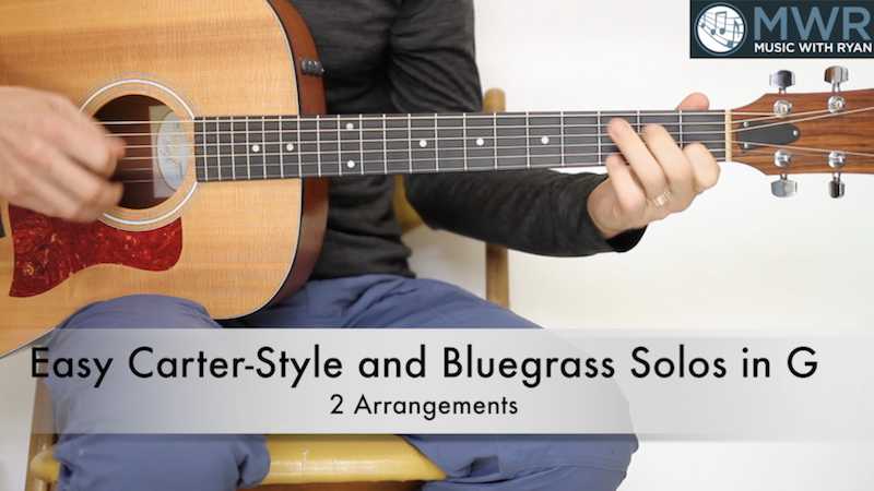 Bluegrass Guitar Lesson